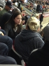 Kristin Kreuk & Brian White - - Celtics Game [Feb 6, 2013]