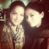Kristin Kreuk & Erica Durance - 'Dinner & Movie'