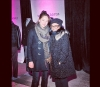 Kristin Kreuk & Sima  @holtrenfrew Party  - Fashion Week