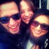 Kristin Kreuk, Sima, & Friend