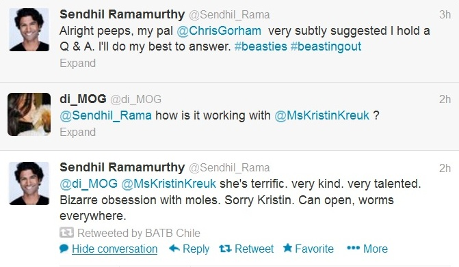 bb sendhil rama on kk tweet april 13 2013