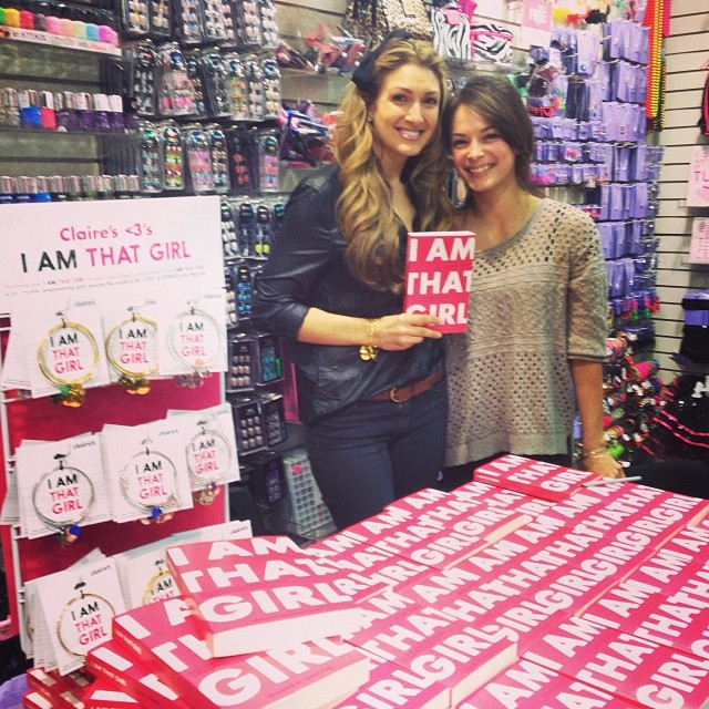 blog i am that girl book signing