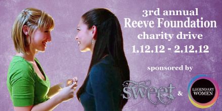 blog reeve foundation charity drive lana chloe 2012