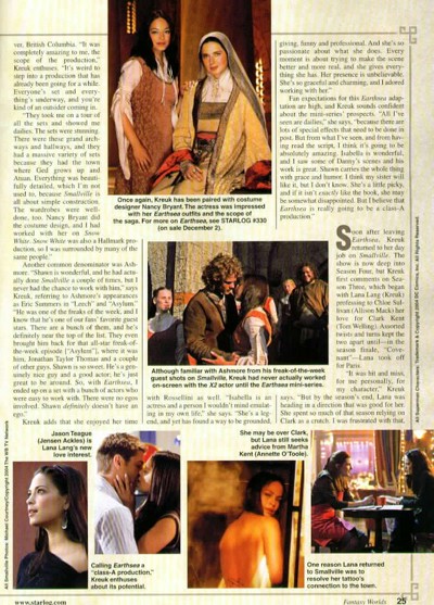 blog starlog movie magic series 05 feb 2005