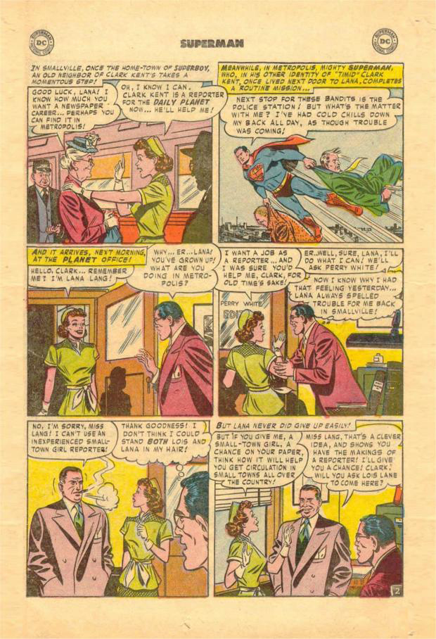blog superman 78 comic